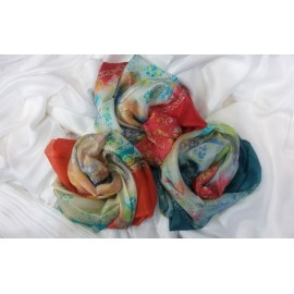روسری (یالیق) ابریشم کوچک