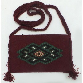 کیف دوشی  دستباف (سایز کوچک)